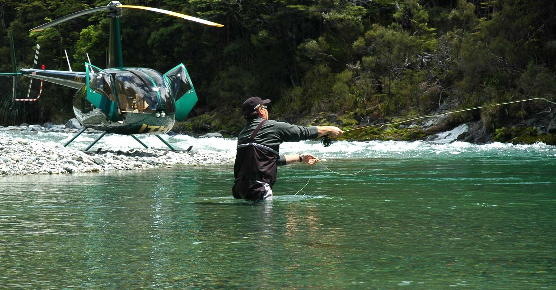 Heli Fishing