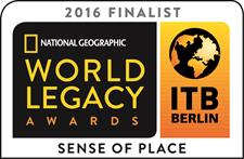 Finalist in National Geographic World Legacy Awards