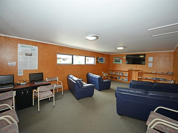TV, Library, Games Room