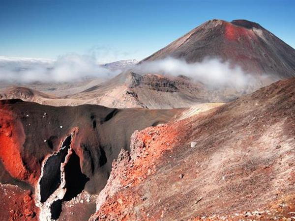 South Crater To Red Crater