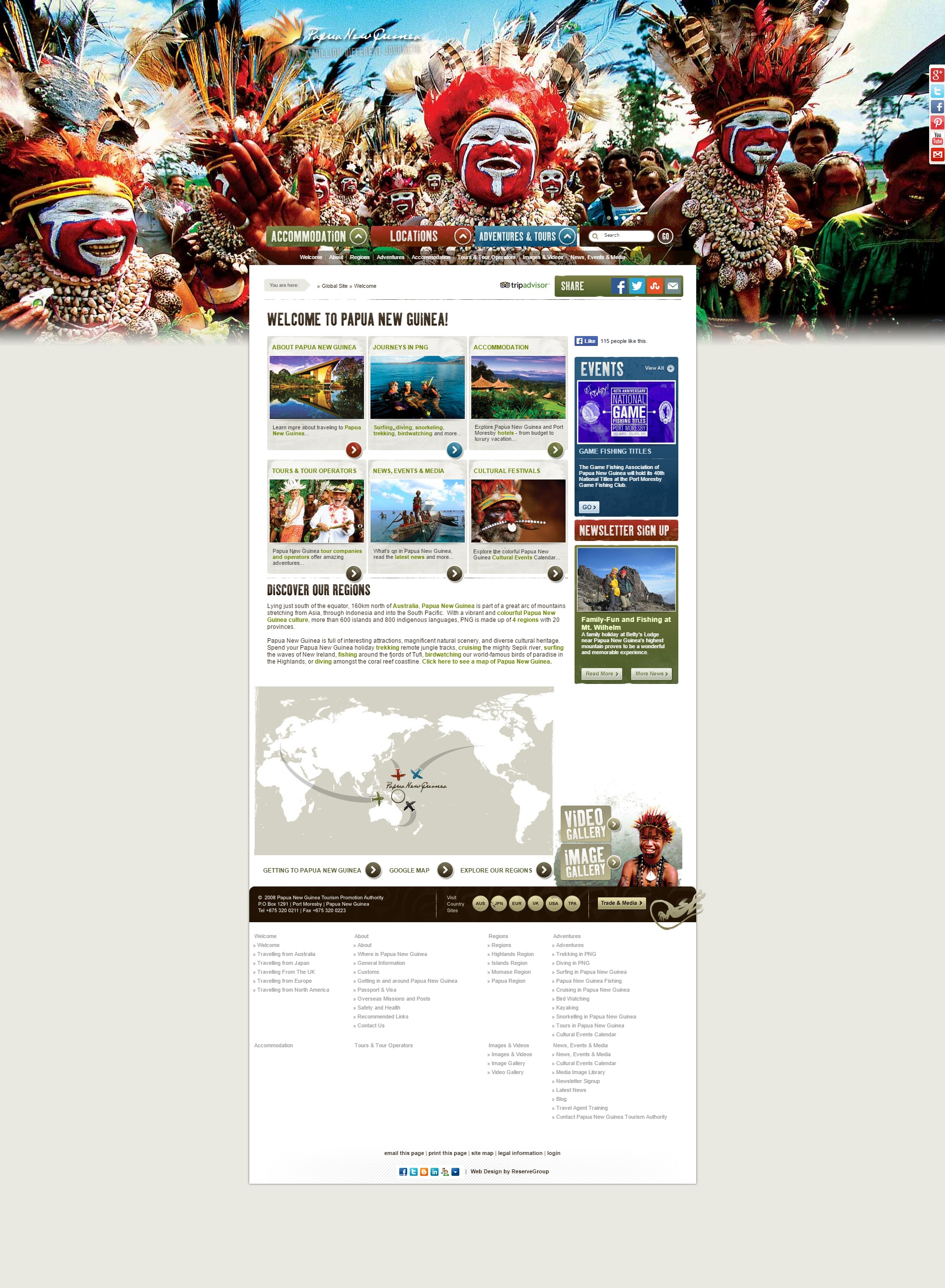 Papua New Guinea Tourism