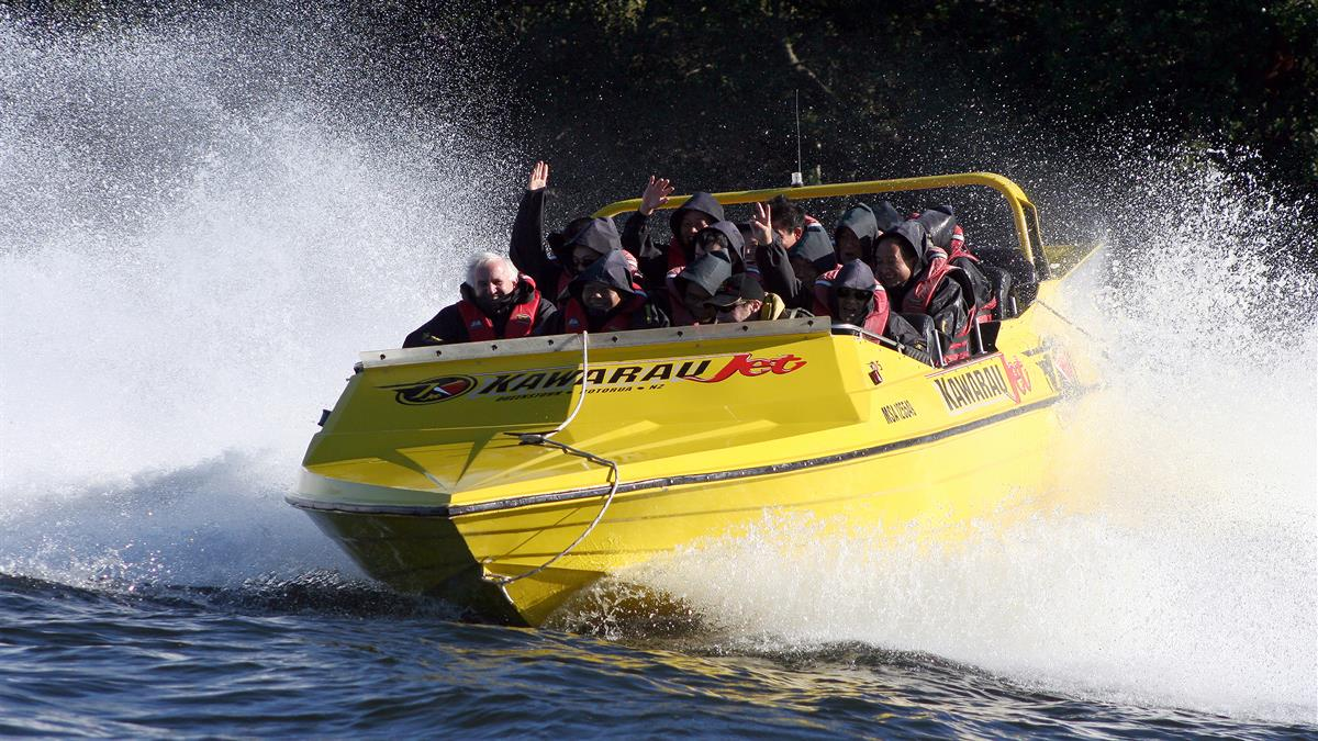 Be In To Win a Jet Boat Ride for 2!