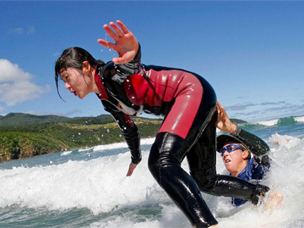 Surf Lessons and Board Hire