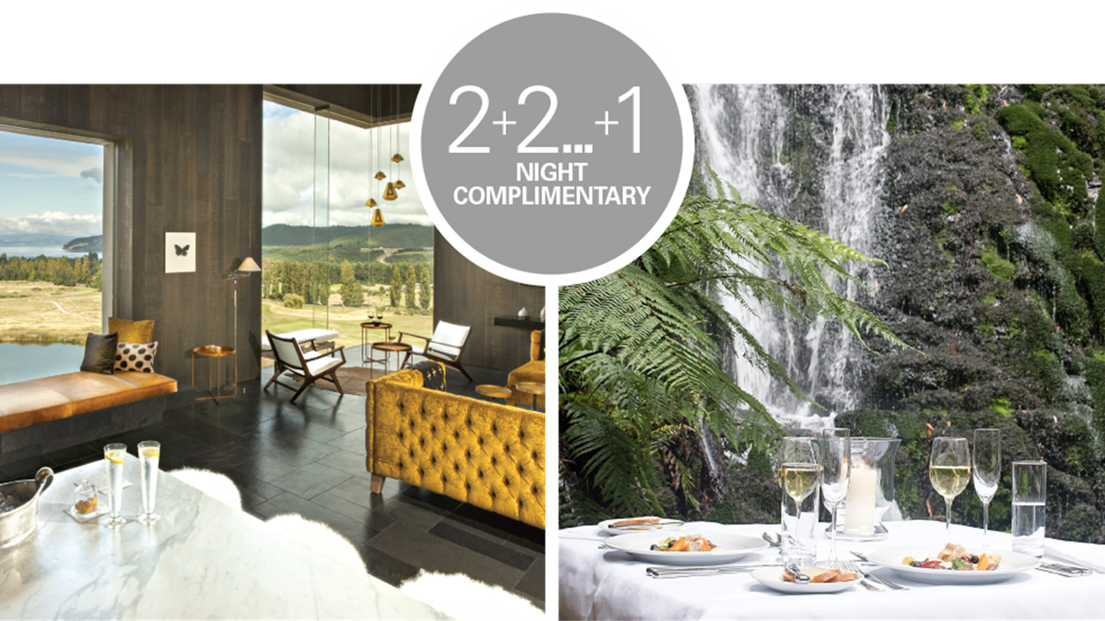 Ultimate New Zealand Escape 2+2 ...+1 complimentary
