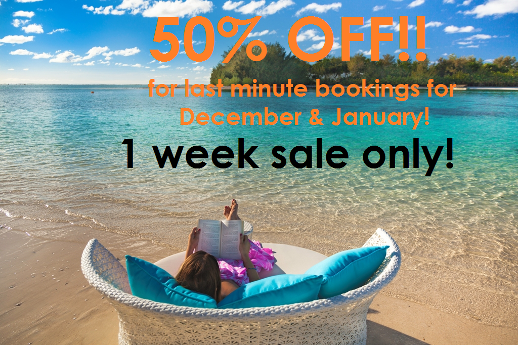 50% off!