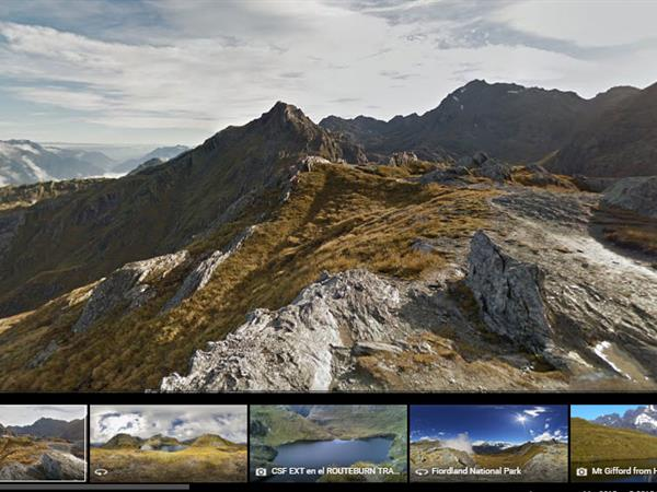 See the Great Walks of Queenstown with Google!