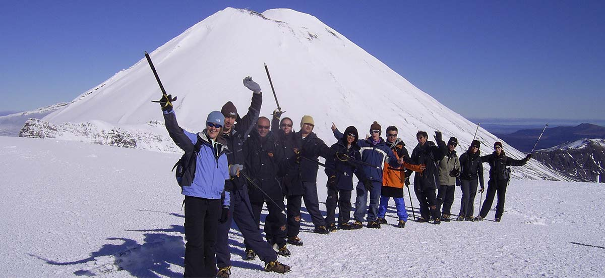 Winter Tongariro Crossing Package