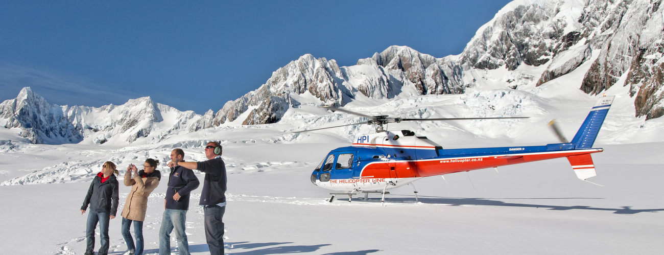 Fox Glacier Helicopter Combo