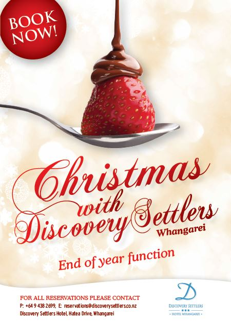 End of Year Christmas Function in Whangarei