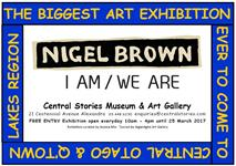 Art Exhibition - Nigel Brown - I Am / We Are