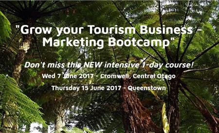 Grow your tourism business - marketing bootcamp