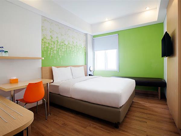Kamar di Zest Hotel Yogyakarta