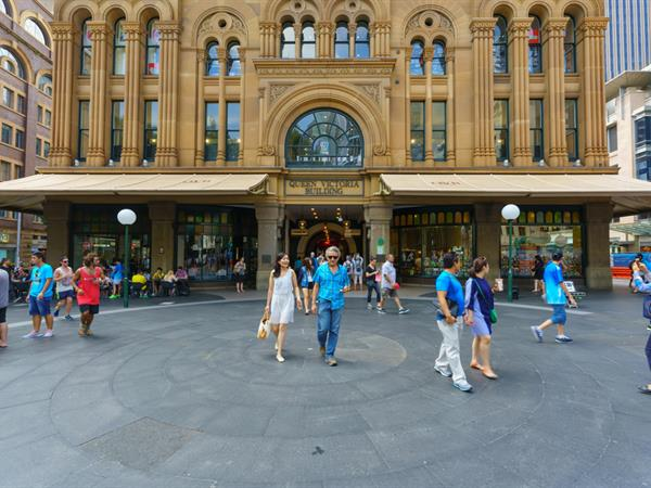 Sydney is a shopaholic's paradise