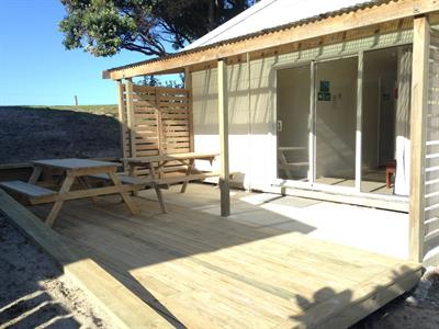 Bunk room 1 Camp Waipu Cove