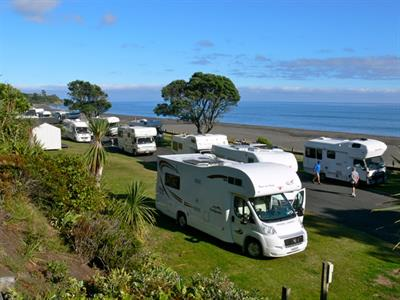 Beach Front Powered Sites