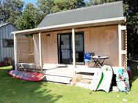 Deluxe Kitchen Cabin Camp Waipu Cove