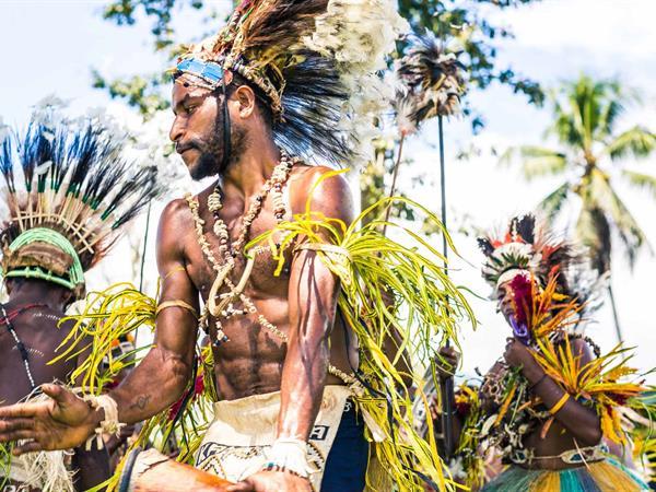Goroko Cultural show PNG Trekking Adventures - PNG Culture