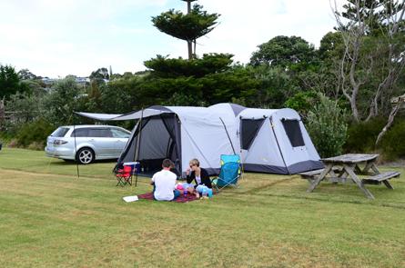 Non-Powered Campsites Camp Waipu Cove