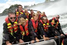 Jet Boat-Floatplane Thrill Ride New Zealand River Jet