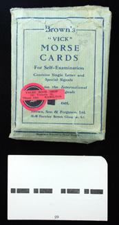 Morse Cards and Signaller HC66
