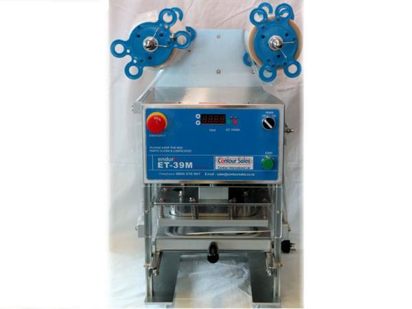 END-39L ENDURO Manual Tray Sealer Contour Packaging