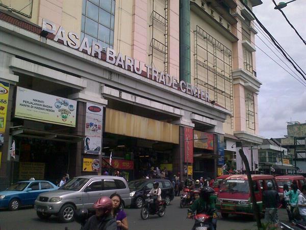 Pasar Baru Zest Hotel Sukajadi Bandung