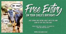 Kids Birthday Free Entry