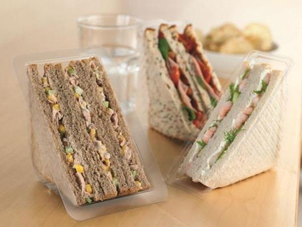 Plastic Sandwich Vees