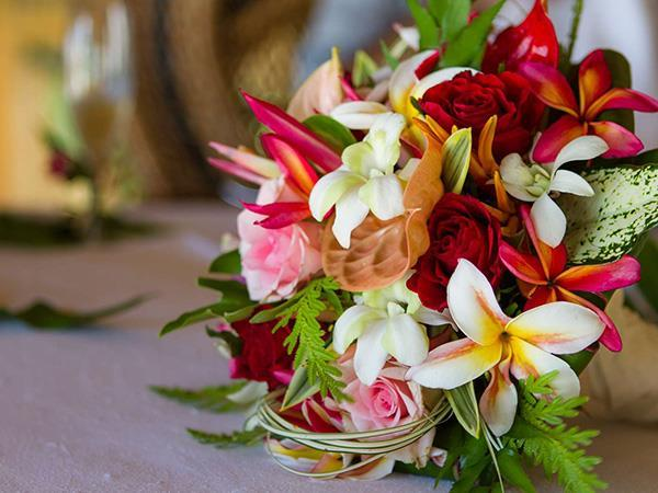 Bouquet Rond Exotique