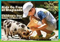 Kids Go Free on Children's Day!