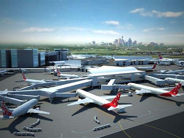 Sydney International and Domestic Airport