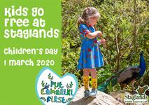Kids Go Free at Staglands on Children's Day!
