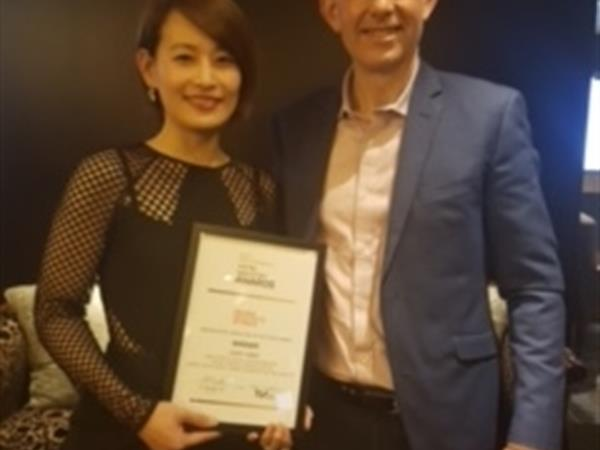 Judy Chen Wins Senior Hotel Executive of the Year at the Prestigious New Zealand Hotel Awards, 2017