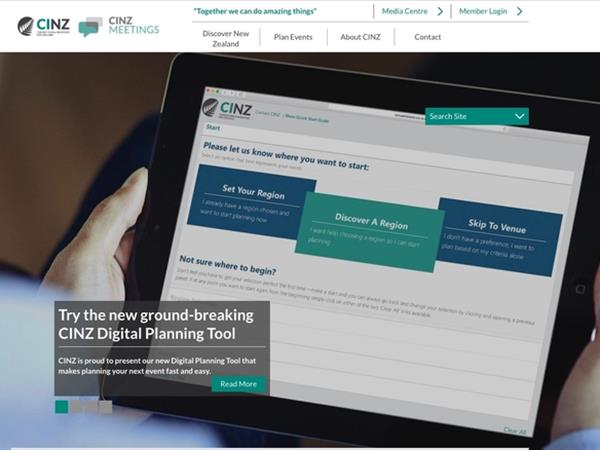 CINZ launches ground breaking digital planning tool