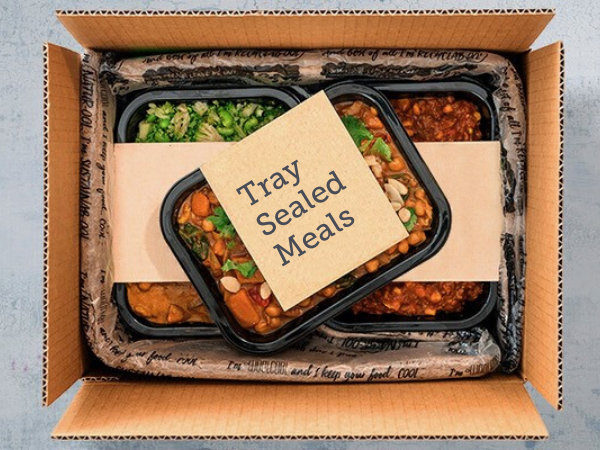 Meal Tray Sealing Kits Contour Packaging