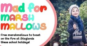 Go Mad for Marshmallows these School Holidays! Staglands Wildlife Reserve and Café