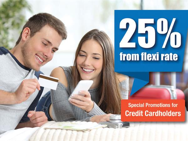 Bank Partnership Promotions - 25% OFF!