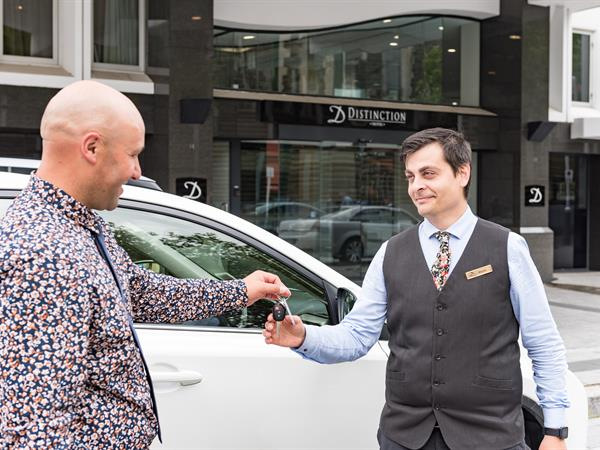 Valet Parking at Distinction Christchurch Hotel