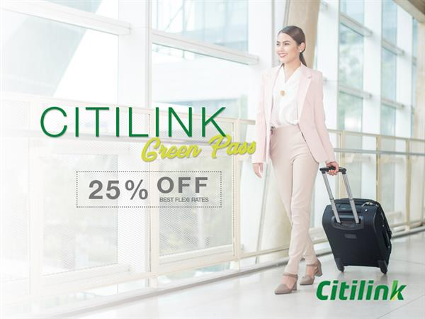 Citilink Boarding Pass Promotion