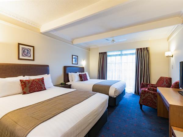 Standard Hotel Room Distinction Rotorua Hotel & Conference Centre