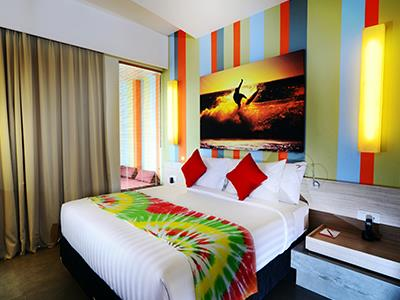 Deluxe Room Suites Bliss Surfer Hotel