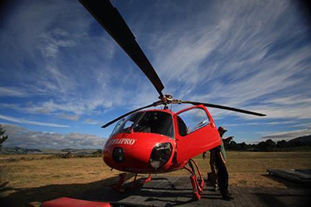 Remote Wilderness Heli-Fishing in New Zealand