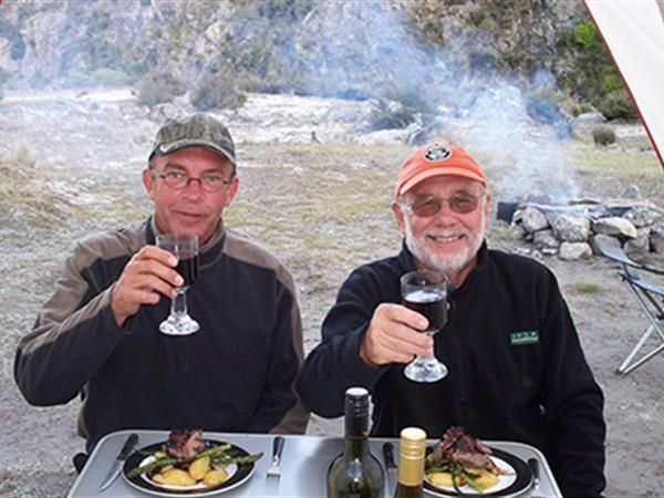 Luxury Wilderness Camping Flyfish Taupo