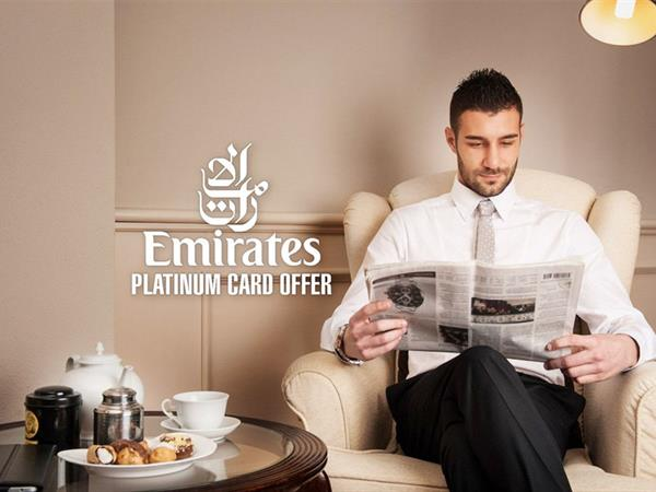 Emirates Platinum Card Offer