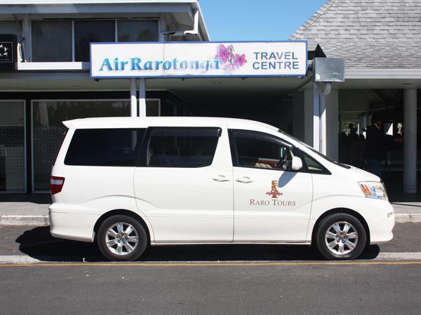 Domestic Private Transfer (Per Vehicle) Raro Tours Direct