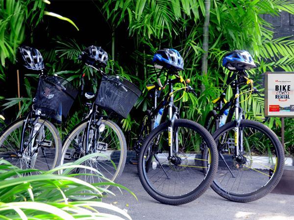 Bike Hire Swiss-Belhotel Segara