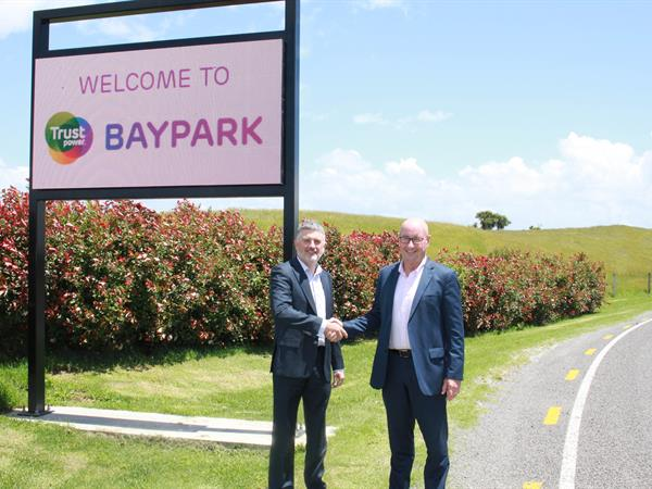 Trustpower Announced as Baypark Naming Partner