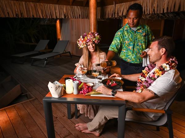 The Milky Way Dinner Le Bora Bora by Pearl Resorts