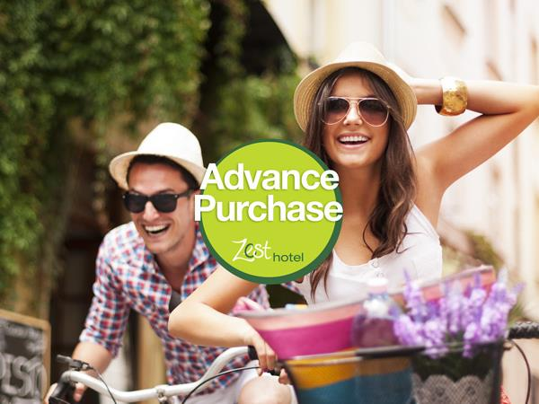 Advance Purchase - Save up to 30%!