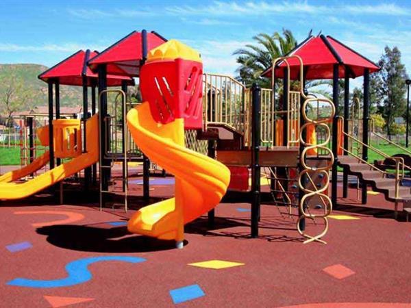 Children's Playground Swiss-Belsuites Pounamu, Queenstown, New Zealand